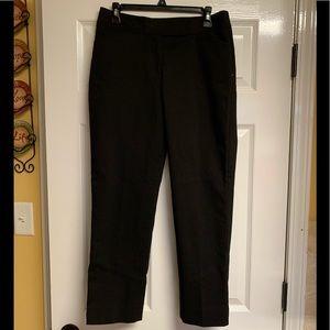 Talbots size 6 curvy fit ankle pants.